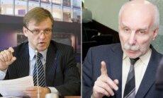 Zigmas Vaišvila ir Rolandas Paulauskas