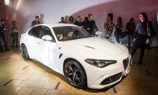 Vilniuje pristatyta Alfa Romeo Giulia
