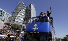 Golden State Warriors čempioniškas paradas