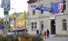 Mero rinkimai Bosnijos ir Hercegovinos Srebrenicos mieste