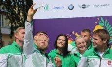 Sportininkų išleistuvės į žaidynes Baku