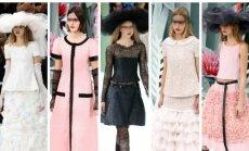 """""""Chanel"""" drabužių kolekcijoje pražydo gėlės"""