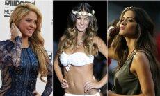 Shakira, Melisa Satta, Sara Carbonero