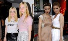 Dakota ir Elle Fanning, Rooney ir Kate Mara