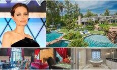 Angelina Jolie su vaikais persikraustė į naujus namus