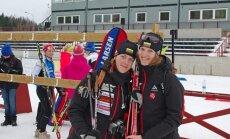 Gabrielė Leščinskaitė (dešinėje) - biathlon.ee nuotr.