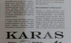 """Plinta autonominis studentų laikraštis """"Unizinas"""" (D. Brandišausko nuotr.)"""