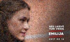 Emilija iš Laisvės alėjos koliažas iš savanorių nuotraukų