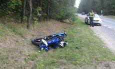 Šalia Prienų – masinė motociklininkų avarija