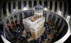 Baigta ant Jėzaus kapo stovinčios bažnytėlės restauracija