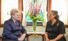 Prezidentės susitikimas su Tailando Princese Maha Chakri Sirindhorn