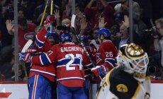 Canadiens ledo ritulininkai džiaugiasi