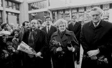 Vytautas Landsbergis, Kazimiera Danutė Prunskienė ir Algirdas Mykolas Brazauskas