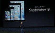 iOS 9 pristatymas
