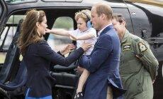 Princas George trečiojo gimtadienio išvakarėse