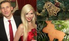Stumbrų šeimynos kalėdinės dekoracijos