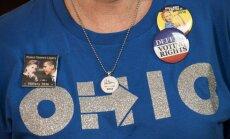 Hillary Clinton rėmėja Ohajo valstijoje