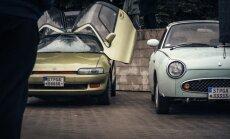 Toyota Sera ir Nissan Figaro