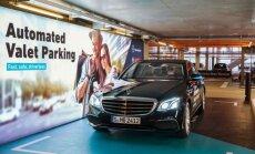 Mercedes-Benz išmoko be vairuotojo parkuotis daugiaaukštėse stovėjimo aikštelėse