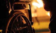 Santariškių vaikų ligoninės kieme surengtas ugnies šou