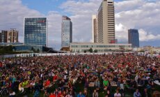 Big screens by the White Bridge in Vilnius will broadcast UEFA Euro matches