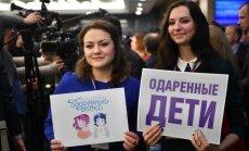 V. Putino populiarumas tarp jaunimo