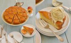 Nepaprastai geras skonių derinys: apverstas abrikosų pyragas