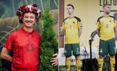 A. Pogrebnojus išpeikė naujus futbolininkų marškinėlius