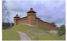Medinė pilis