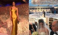 Modelis Shanina Shaik dalyvavo pompastiškose milijardierių vestuvėse