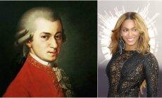 Mozartas ir Beyonce