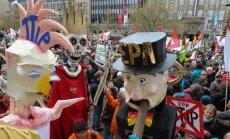 Protestas Hanoveryje prieš  Transatlantinio laisvosios prekybos susitarimą
