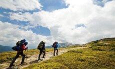 Turistai kalnuose