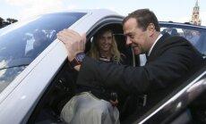 Natalija Iščenko ir Dmitrijus Medvedevas
