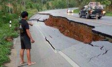 Žemės drebėjimas Tailande