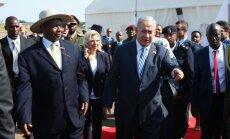 Benjaminas Netanyahu, Yoweri Museveni
