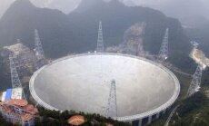 Kinijos 500 metrų apertūros sferinis radioteleskopas