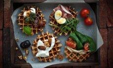 4 gardžios idėjos, kaip paprastus vaflius paversti nepaprastu patiekalu
