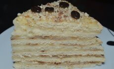 Keptuvėje keptas tortas