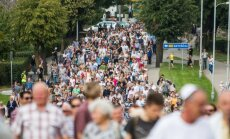 March of survivors in Molėtai