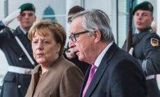 A. Merkel ir J. C. Junckeris