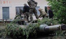 Kardo kirtis 2014 naudojama karinė technika pristatyta Rukloje