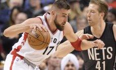 "NBA, Toronto ""Raptors"" - Bruklino ""Nets"""