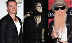 U2, Alice Cooperis, ZZ Top