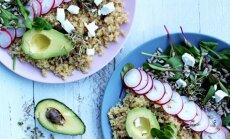 Sveikatos sauja jūsų lėkštėje: bolivinės balandos su ožkos sūriu