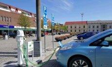 Kelionė elektromobiliu į Švediją