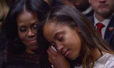 Baracko Obamos šeima
