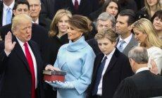 Donaldas Trumpas prisaikdintas 45-uoju JAV prezidentu