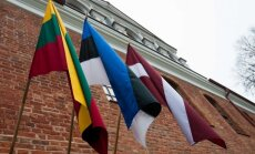 Baltic states flags