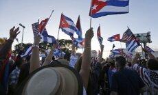 Majamis švenčia F. Castro mirtį